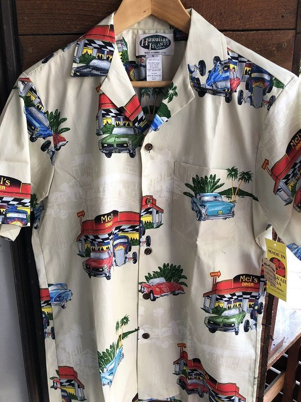 画像1: Made in USA Robert J. Clancey Aloha Shirts コットンアロハシャツ Diner&Car