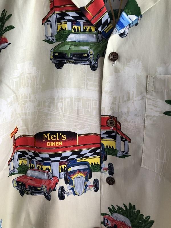画像2: Made in USA Robert J. Clancey Aloha Shirts コットンアロハシャツ Diner&Car