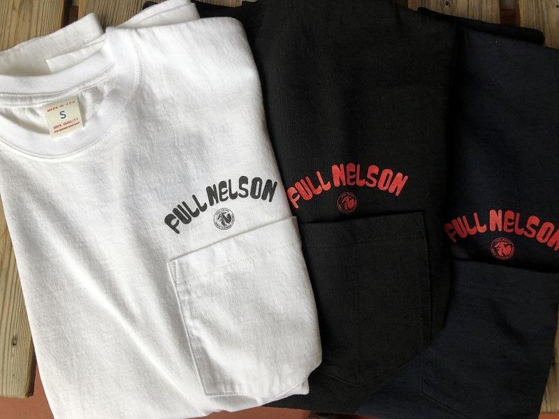 画像1: FULLNELSON×Ahe'hee ヘビーポケットTシャツ