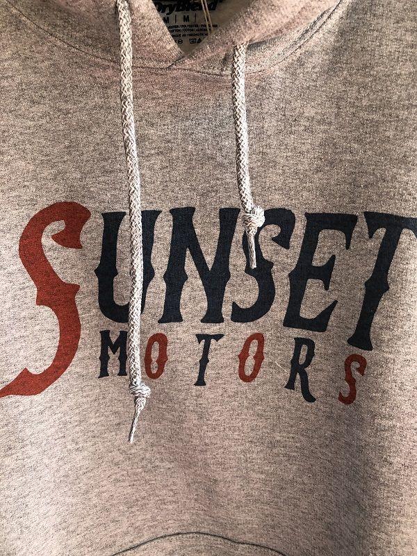 画像2: SUNSET MOTORS クラシックプルパーカー