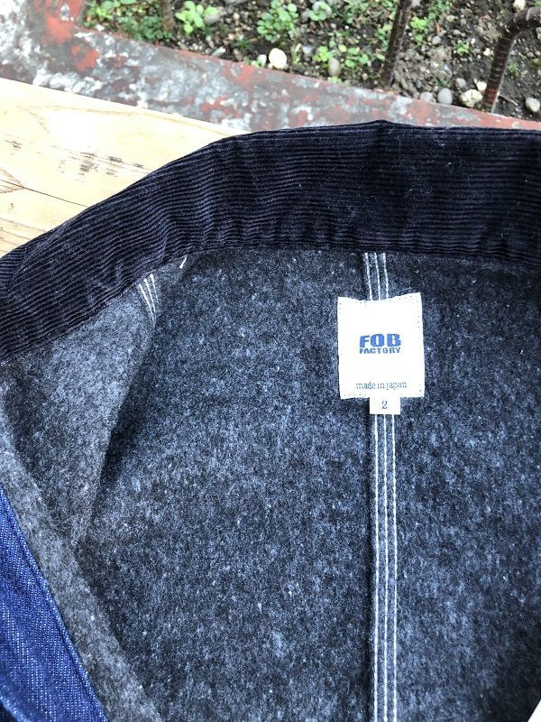 画像3: FOB FACTORY デニム カバーオールジャケット