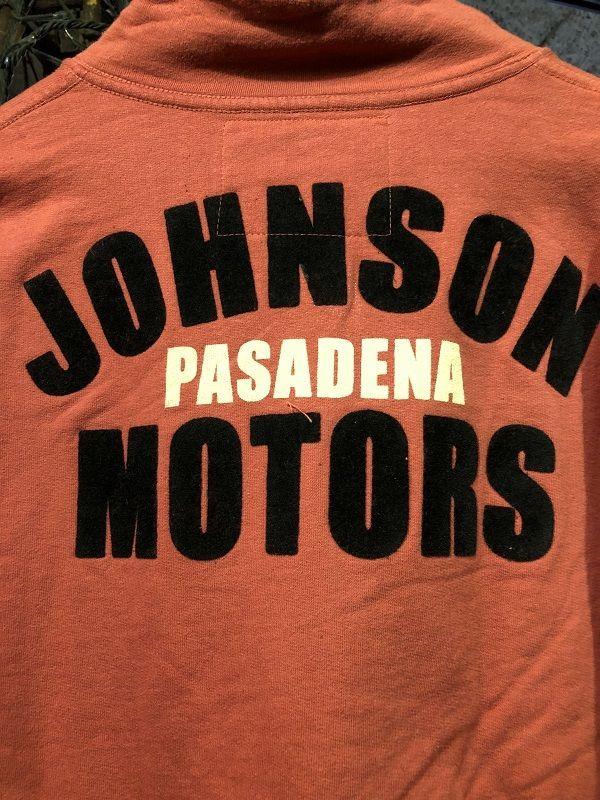 画像5: Johnson Motors'Inc FULL ZIP SWEATJOHNSON PASADENA RED