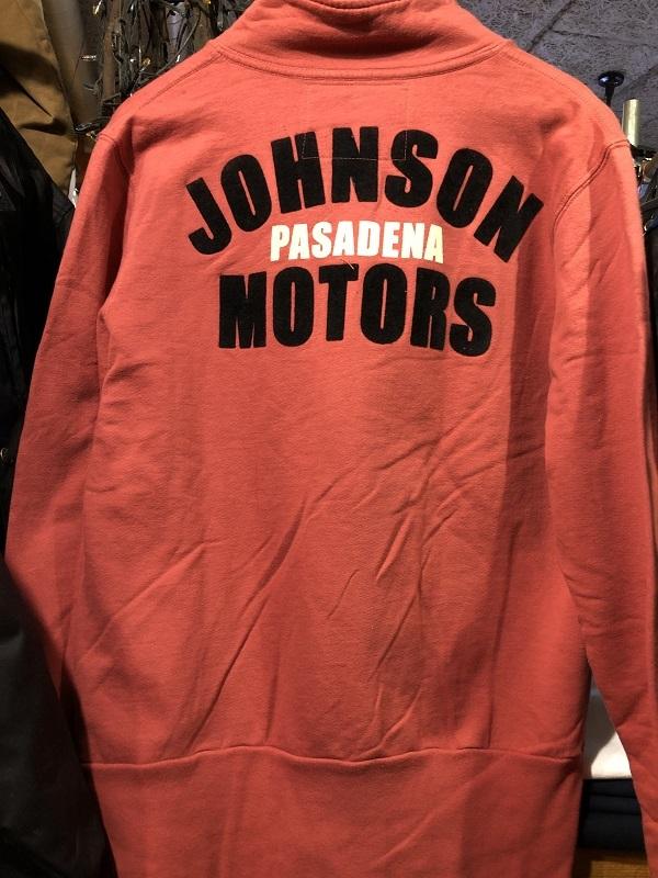 画像4: Johnson Motors'Inc FULL ZIP SWEATJOHNSON PASADENA RED