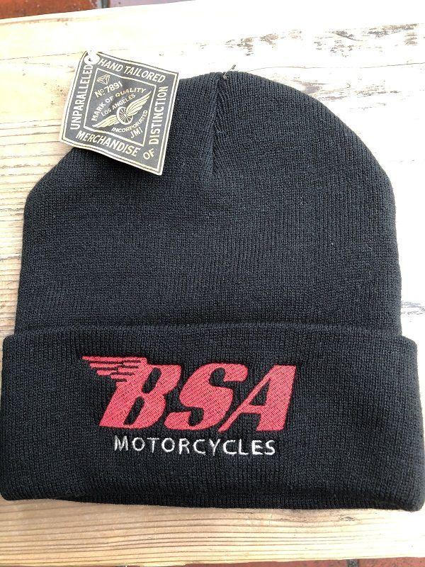 画像1: Johnson Motors'Inc BSA ニットワッチキャップ