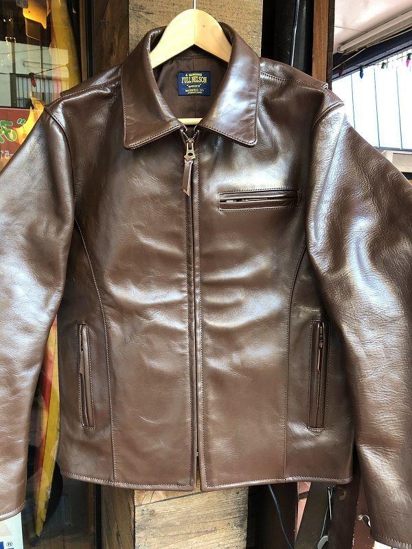 画像1: FULLNELSON ORIGINAL HORSEHIDE TRUCKER JACKET オリジナルホースハイドトラッカージャケット