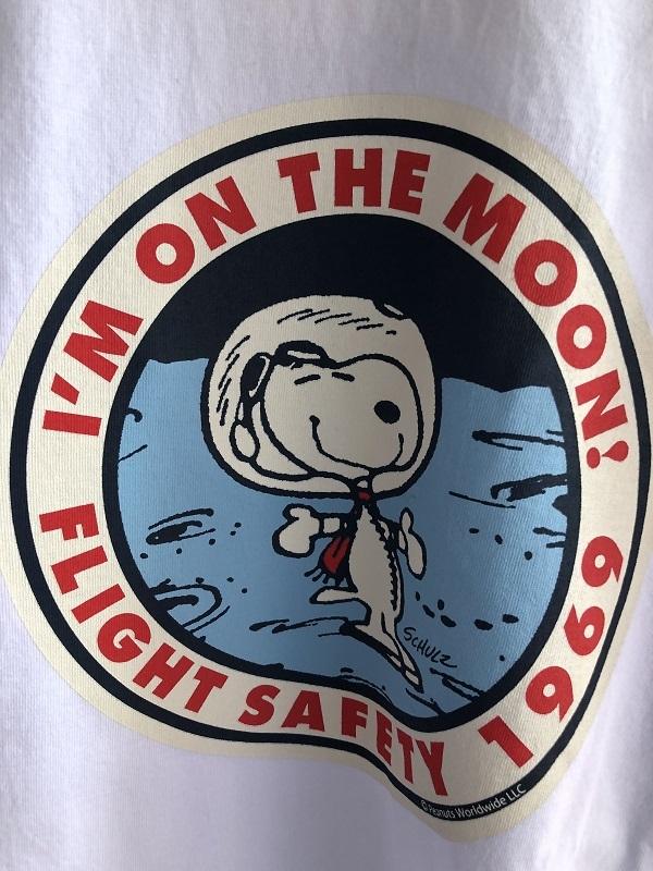 画像2: BUZZ RICKSONS スヌーピー半袖Tシャツ I'M ON THE MOON