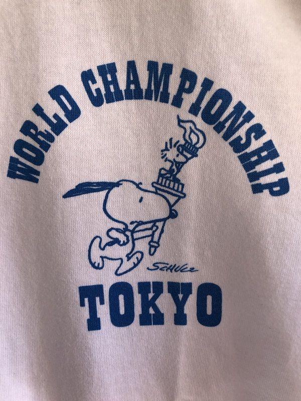 画像5: BUDDY 別注  スヌーピー PEANUTS Tシャツ WORLD CHAMPIONSHIP TOKYO