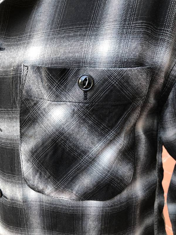 画像3: CUSHMAN レーヨンオンブレーチェックシャツ