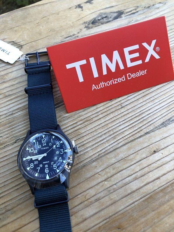 画像1: TIMEX クォーツ ネイビー MK1 アルミニウム