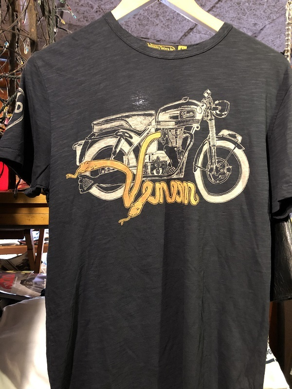 画像1: Johnson Motors'Inc VENOM VELO S/S tee ジョンソンモータース半袖Tシャツ VINTAGE BLACK