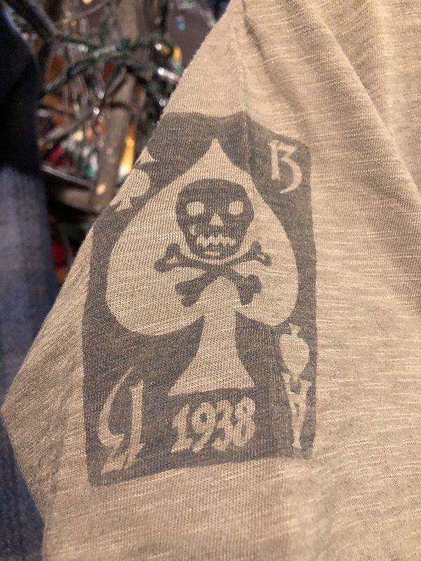画像3: Johnson Motors'Inc CLOVRE THIRTEEN S/S tee ジョンソンモータース半袖Tシャツ ARMY GREEN