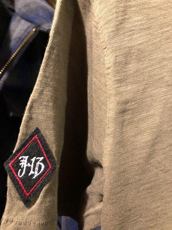 画像5: Johnson Motors'Inc CLOVRE THIRTEEN S/S tee ジョンソンモータース半袖Tシャツ ARMY GREEN