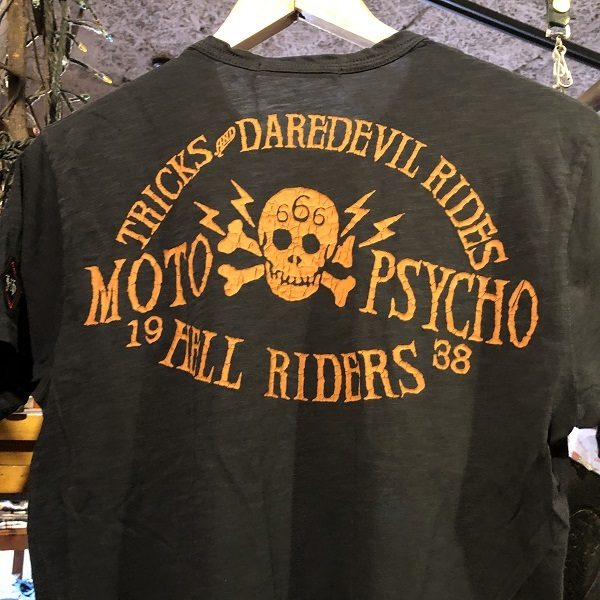 画像3: Johnson Motors'Inc WALL OF DEATH S/S tee ジョンソンモータース半袖Tシャツ VINTAGE BLACK