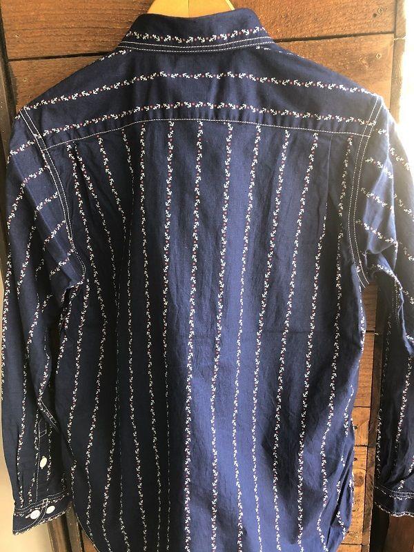 画像5: CUSHMAN クッシュマン コットンリネン アンカー ウォバッシュ ワークシャツ