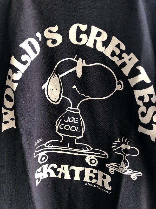 画像2: BUDDY 別注 スヌーピー PEANUTS SNOOPY JOE COOL Tシャツ WORLD'S GREATEST SKATER