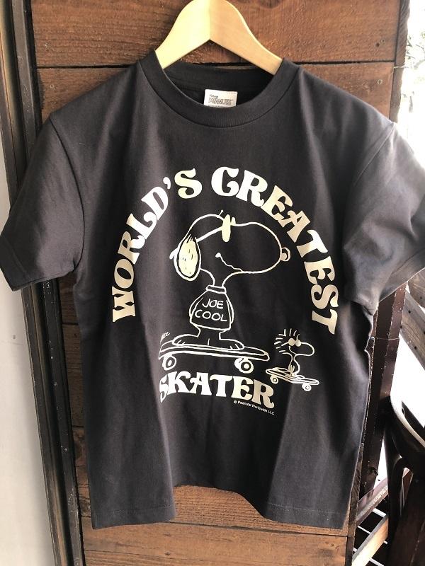 画像1: BUDDY 別注 スヌーピー PEANUTS SNOOPY JOE COOL Tシャツ WORLD'S GREATEST SKATER