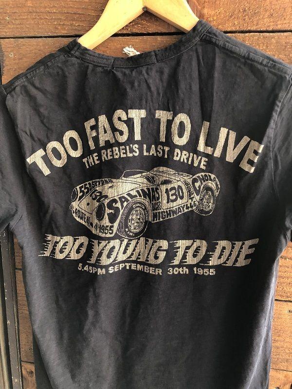 画像4: Johnson Motors'Inc TOO FAST S/S tee ジョンソンモータース半袖Tシャツ OILED BLACK