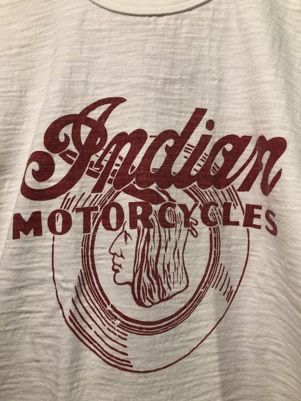 """画像2: INDIAN MOTORCYCLE SLUB YARN T-SHIRT """"INDIAN HEAD"""""""