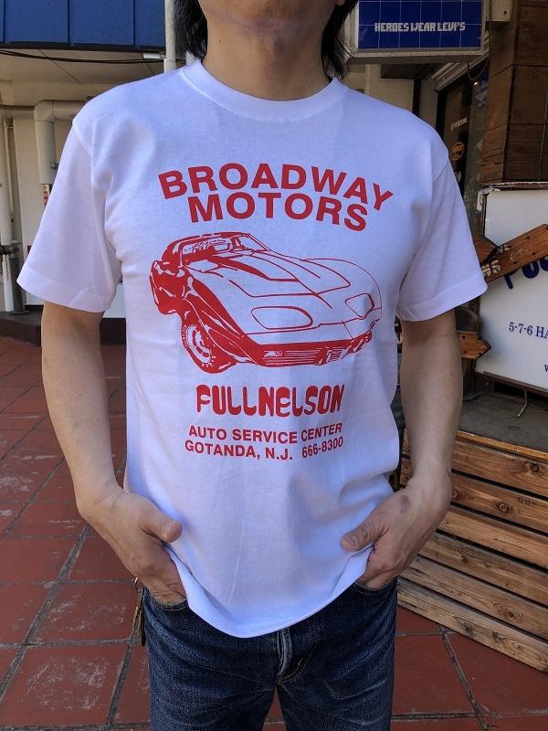 画像1: FULLNELSON フルネルソン オリジナル CORVETTE柄Tシャツ