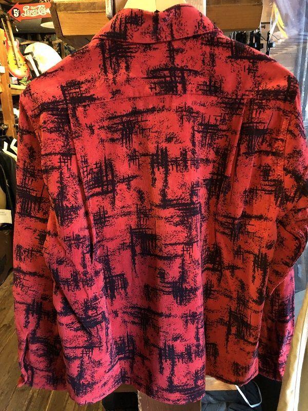 画像4: STYLE EYES オープンカラー コーデュロイシャツ RED
