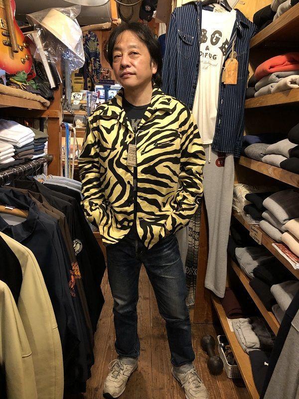 画像5: CUSHMAN TIGER PRINT オープンシャツ