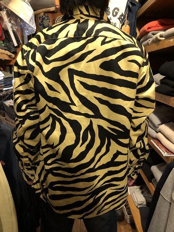 画像2: CUSHMAN TIGER PRINT オープンシャツ