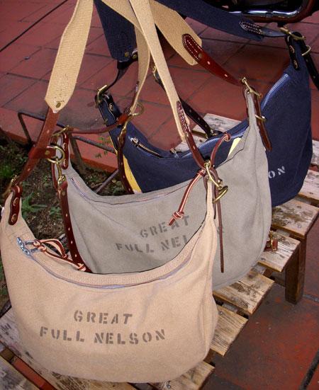 画像1: FULLNELSON フルネルソン別注 Bag Blow バナナ型 ショルダーバッグ