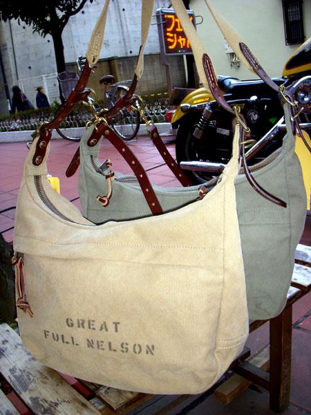 画像1: FULLNELSON フルネルソン別注 Bag Blow A4サイズショルダーバッグ