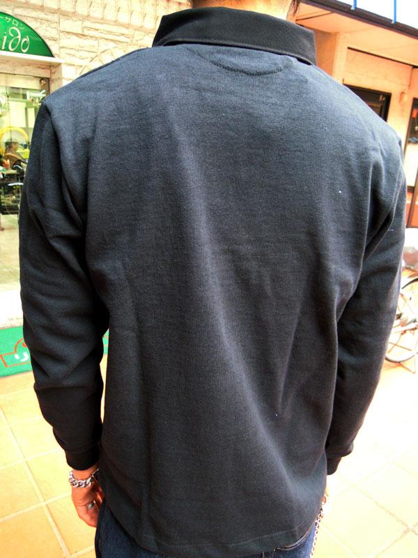 画像2: BARBARIANバーバリアン ラガーシャツ BLACK