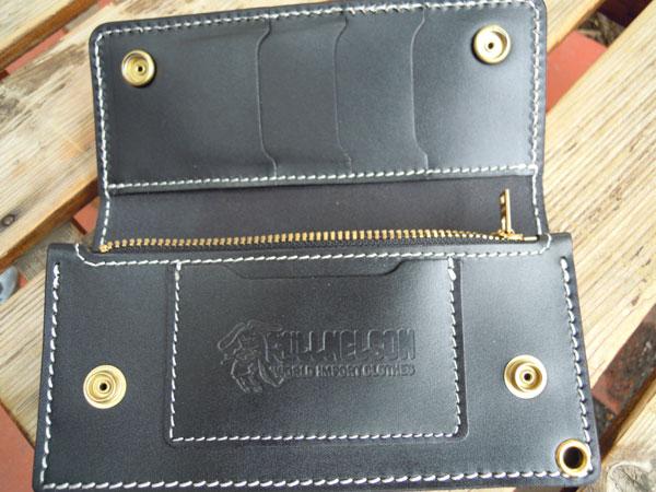 画像2: FULLNELSON ORIGINAL TRUCKERS WALLET BLACK