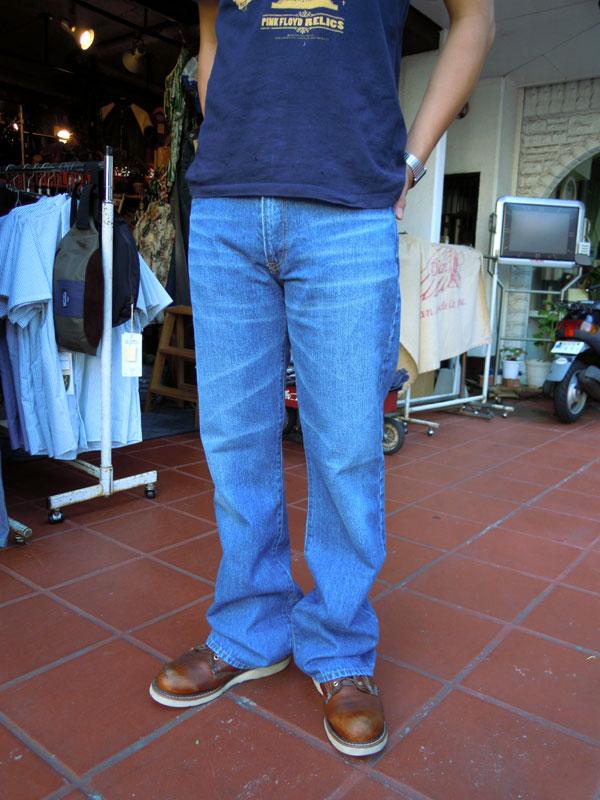 画像1: FULLNELSON フルネルソン オリジナルブーツカット Used Wash 5017D