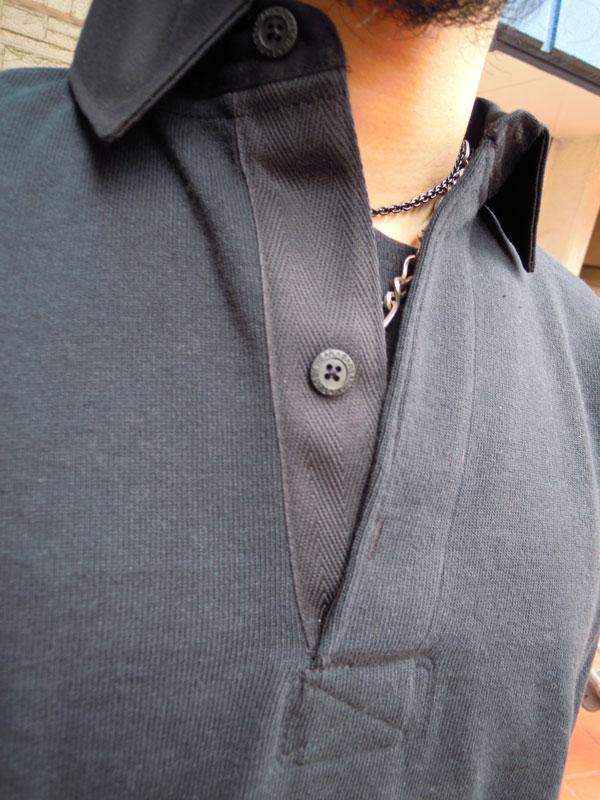 画像3: BARBARIANバーバリアン ラガーシャツ BLACK