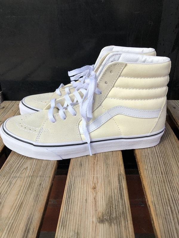 VANS SK8-HI スケートハイ CLASSIC WHITE